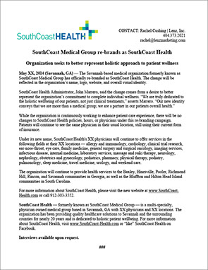 southcoast-health_re-branding-release