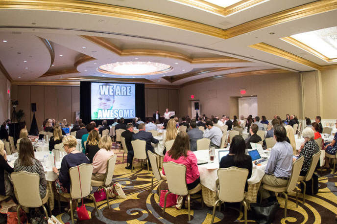 Crowd shot of 2019 Hospital Marketing National Southeast Conference