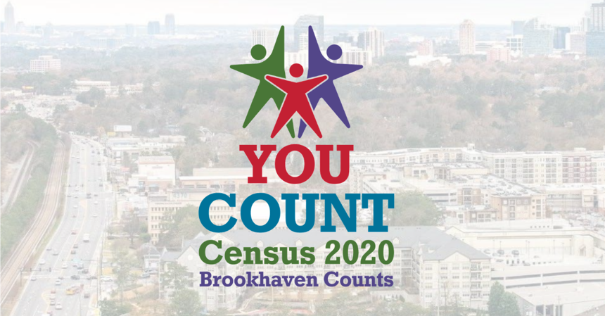 Logo that Lenz designed for the Brookhaven Census 2020.