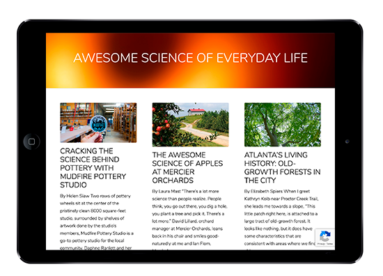 Awesome Science of Everyday Life blogs on ScienceATL.org