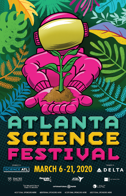 Screenshot of the 2020 Atlanta Science Festival blog.