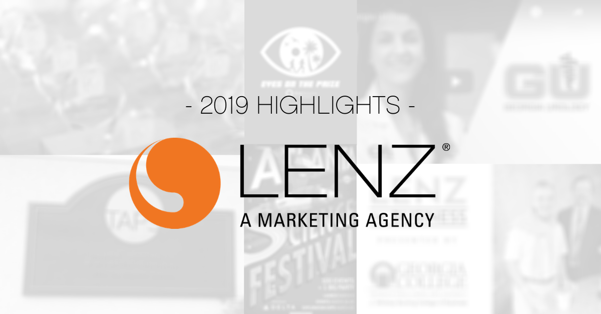 Lenz Marketing 2019 Recap Collage