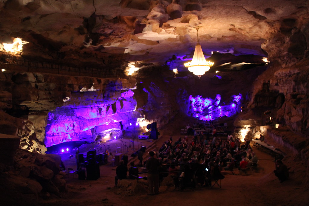 Photo of the venue at Cumberland Caverns Live