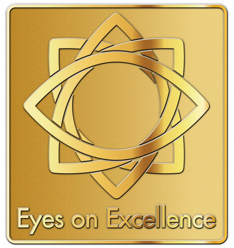 EyeSouth Partners branded doctor's pin